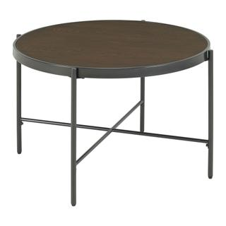 Vienna Round Coffee Table with Wooden Top