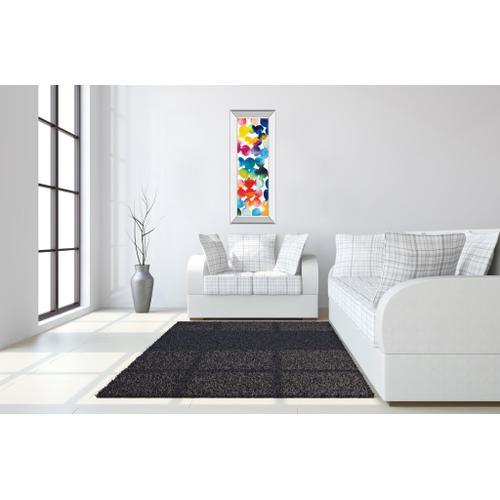 """Bright Circles III"" By Wild Apple Portfolio Mirror Framed Print Wall Art"