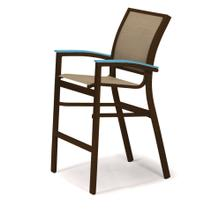 Bazza Sling Balcony Height Stacking Cafe Chair
