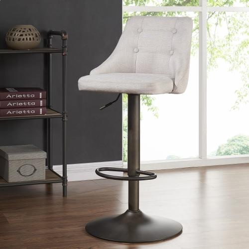 Adyson Air Lift Stool, set of 2 in Beige