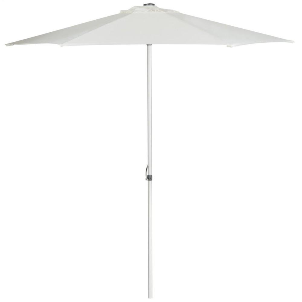 Uv Resistant Hurst 9 Ft Easy Glide Market Umbrella - Natural
