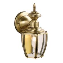 Jackson Solid Antique Brass Outdoor Wall Lantern Sconce #501478