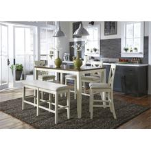 View Product - 6 Piece Gathering Table Set