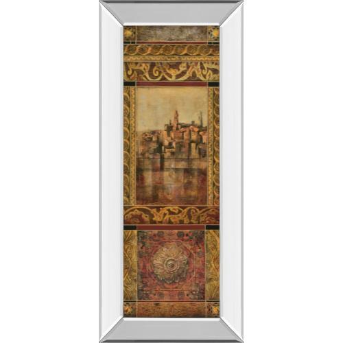 "Classy Art - ""New Enchantment I"" By Douglas Mirror Framed Print Wall Art"