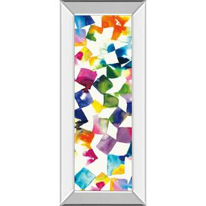 """Colorful Cubes Il"" By Wild Apple Portfolio Mirror Framed Print Wall Art"