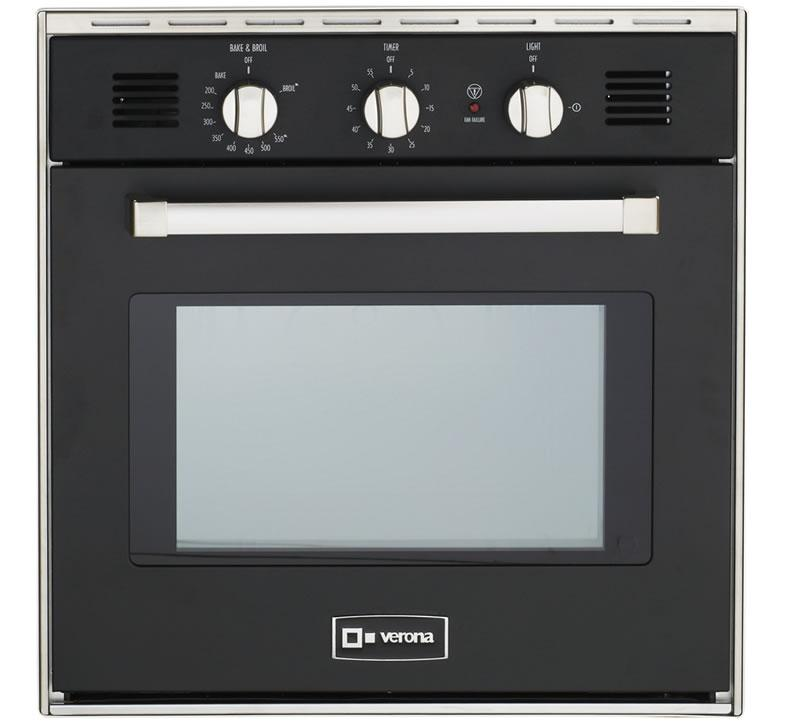 """Black 24"""" Gas Built-In Oven Photo #1"""