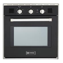 "Black 24"" Gas Built-In Oven"