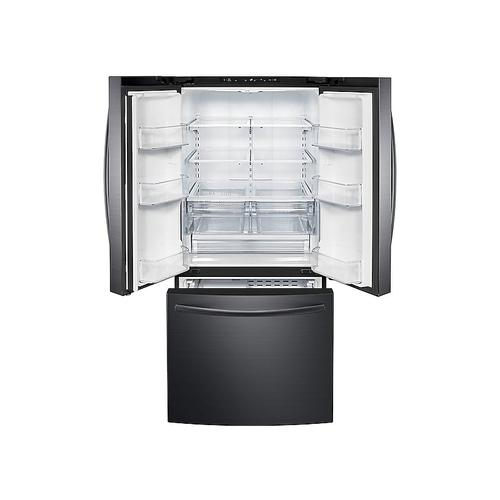 22 cu. ft. French Door Refrigerator in Black Stainless Steel