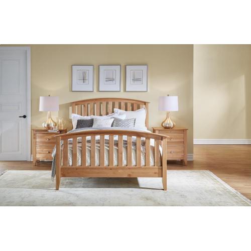 See Details - King Slat Bed
