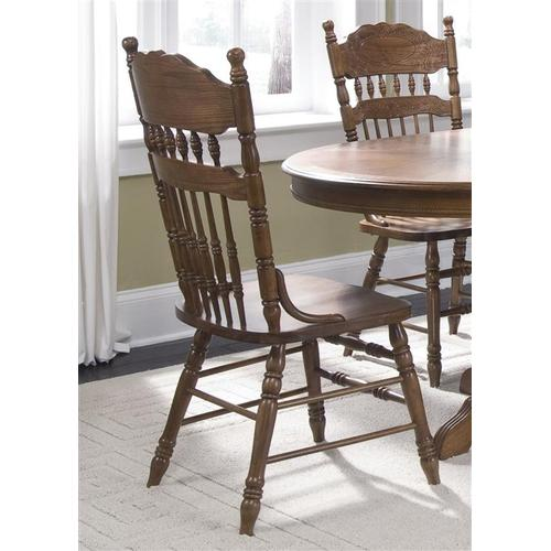 Liberty Furniture Industries - Embossed Back Side Chair