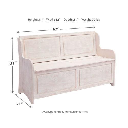 Signature Design By Ashley - Dannerville Storage Bench