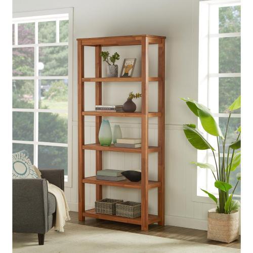 Tiburon Book Shelf KD, Amber