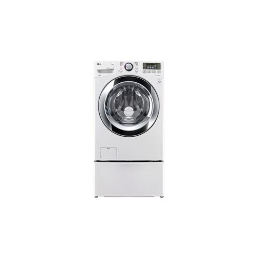 LG - 4.5 cu. ft. Ultra Large Capacity with Steam Technology