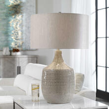 See Details - Felipe Gray Table Lamp