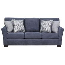 7058 Pacific Blue Steel Sofa Only