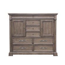 Crestmont Master Chest in Brown