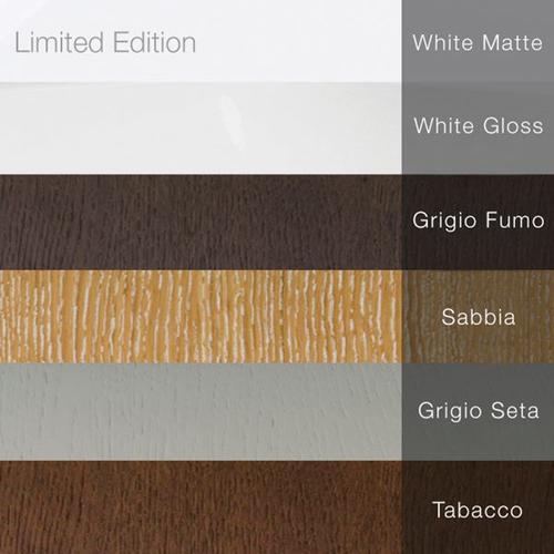 """amanpuri2 master shell White gloss 78 1/4""""X19 1/4""""X6 3/4"""""""