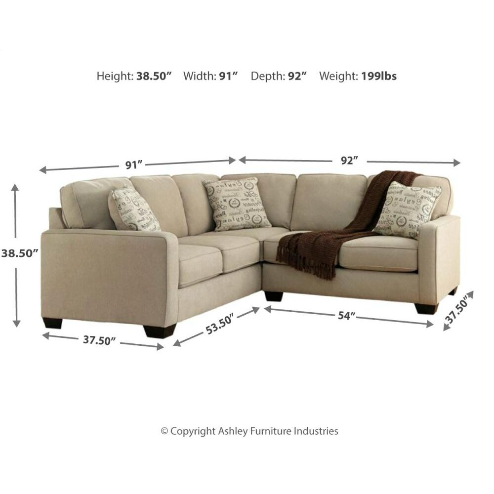 Product Image - 2-piece Sectional With Ottoman