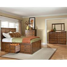 Oak Park Queen Captains Bed