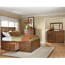View Product - Oak Park King Captains Bed
