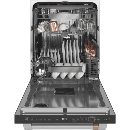 Café Smart Stainless Interior Built-In Dishwasher with Hidden Controls
