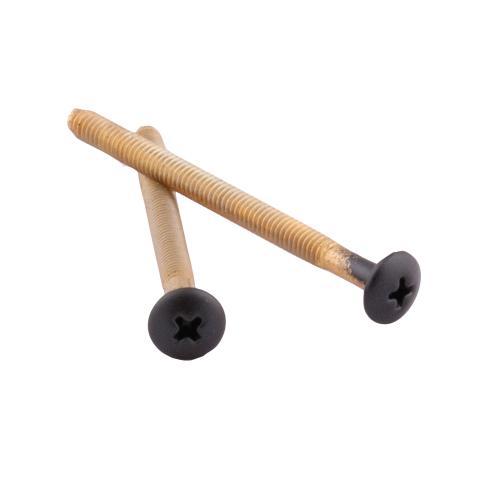 Moen Wrought Iron Escutcheon Screws (2 Screws) for a Single-Handle Tub/Shower Escutcheon