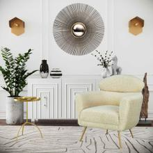 See Details - Famke White Lacquer Buffet