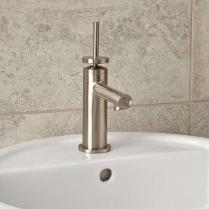 D3510510c144 In Brushed Nickel By Dxv In New York City Ny Percy Single Handle Bathroom Faucet With Stem Handle Brushed Nickel