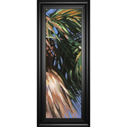 """""""Wild Palm Il"""" By Suzanne Wilkins Framed Print Wall Art"""