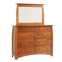 See Details - Bordeaux High Dresser- 1in Bevel Mirror