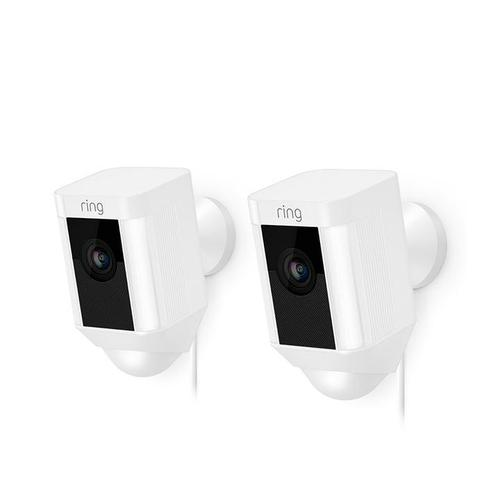 2-Pack Spotlight Cam Wired - White