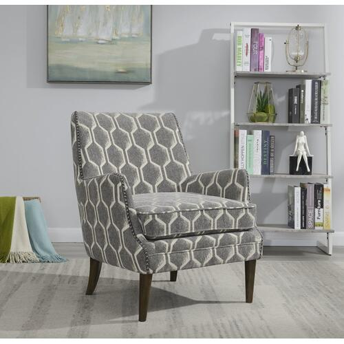 Emerald Home Teagan Accent Chair U3319-05-03, Graphite