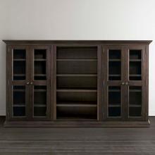 Product Image - Compass Western Brown Emporium Triple Storage Cabinet