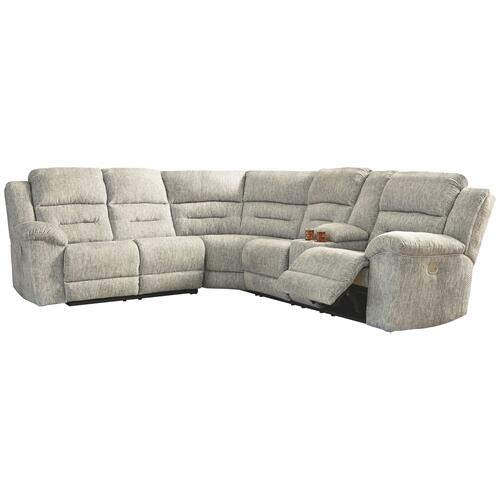 Family Den 3-piece Power Reclining Sectional