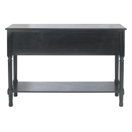 Safavieh - Haines 4 Drawer Console Table - Black