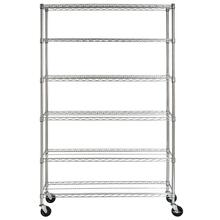See Details - Juliet 6 Tier Heavy Duty Chrome Wire Rack - Chrome Plating