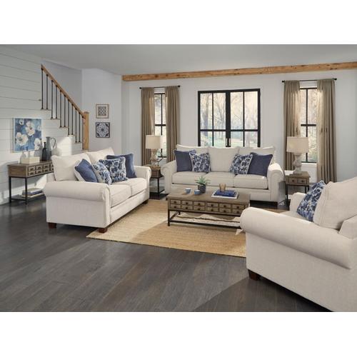 Standard Furniture - Wayne Sofa Table with Metal Base, Brown