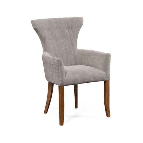 Gibson English Chestnut Arm Chair