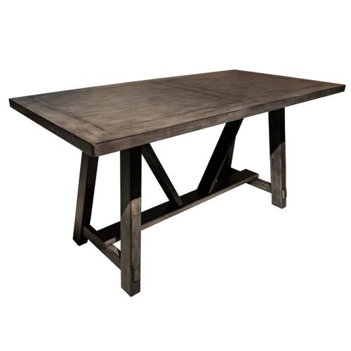 Farmhouse Style Trestle Dining Table