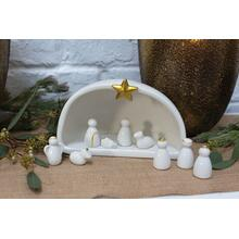 """See Details - Silent Night (Size:7.25""""x 4""""x 5"""", Color:Off-White)"""