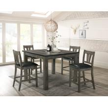 Nathan Counter Dining Set - Counter Table and 4 Barstools