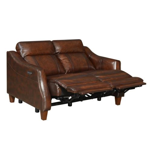 Akari Dual-Power Reclining Loveseat