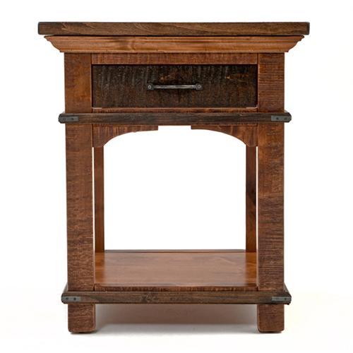 Glen Falls - 1 Drawer Nightstand