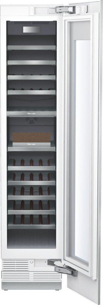 Wine cooler with glass door 18'' T18IW905SP