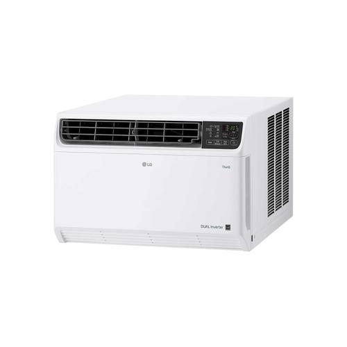 LG - 14,000 BTU DUAL Inverter Smart wi-fi Enabled Window Air Conditioner