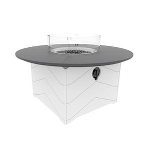 Aura 50 Inch Round Fire Table (901)