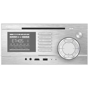 Gallery - 3-Zone Entertainment System with Independent Zone Control - Silver