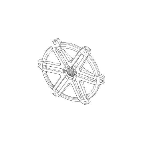 JL Audio - Titanium Sport Grille/Tweeter Assembly for M650