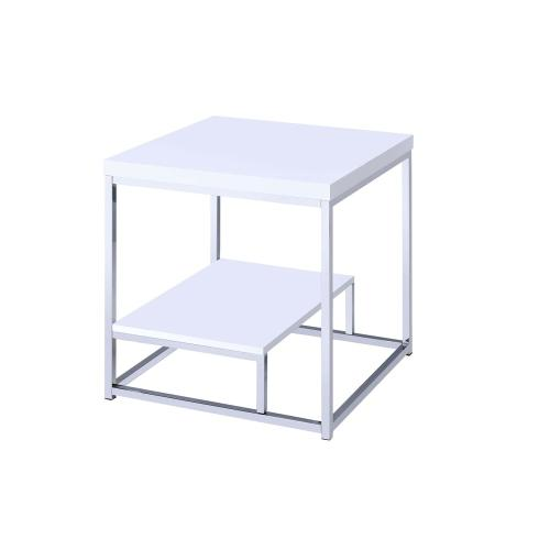 Lucia End Table, White