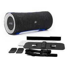 """See Details - Alpine Turn1 """" Waterproof Bluetooth Speaker with Universal Mounting Bracket Package"""